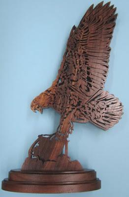 Bald Eagle #1 Jacob Fowler  CWC Nov 2006