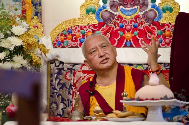 Puja at Land of Medicine Buddha