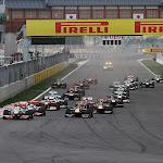 Start of 2011 Korean F1 GP