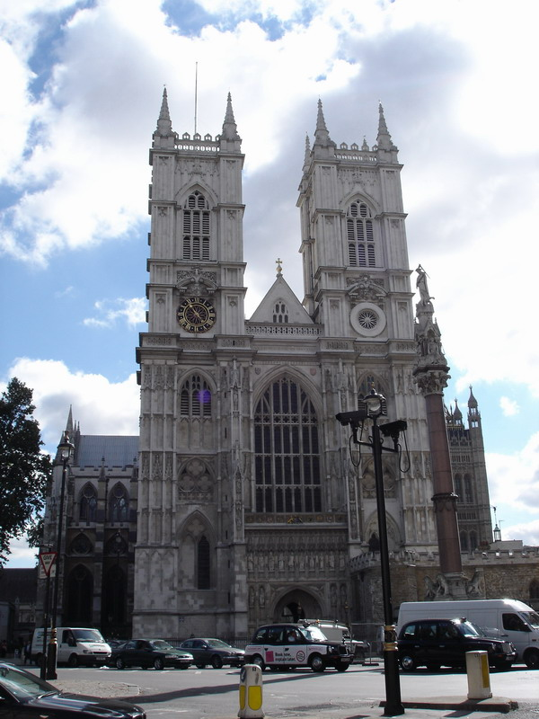 My first view of Westminster Abbey
