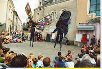 Cie Cosmos  15 Spectacle de rue Inauguration 2000 Cossé