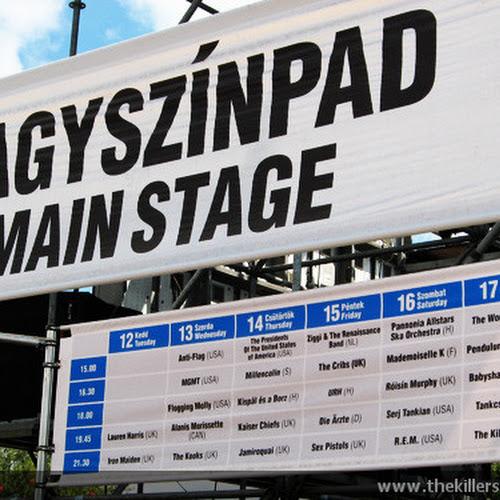 Il programma completo del Main Stage