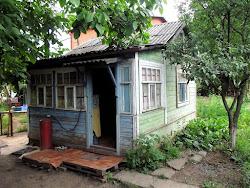 Stara ruska kuca i jermenska porodica u cijem dvoristu sam kampovala posto me je vece sustiglo u Rostovu