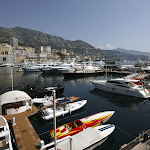 Monaco harbour early in the morning