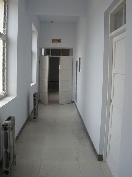 Finished outer construction of Amdo Eye Hospital now working inside the hospital 2009
