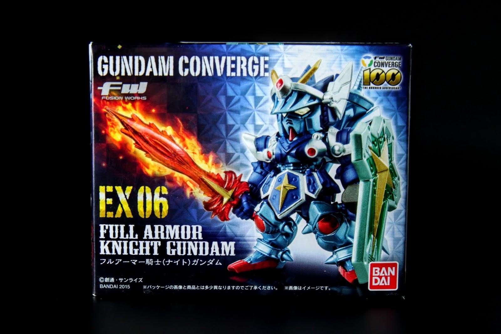 與EX05一起販售的EX06, 盒繪也是不同於一般FW系列