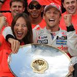 Jenson Button Celebration Spa