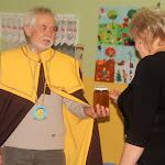 Cseri Erzsébet igazgatónő is kapott ajándékot