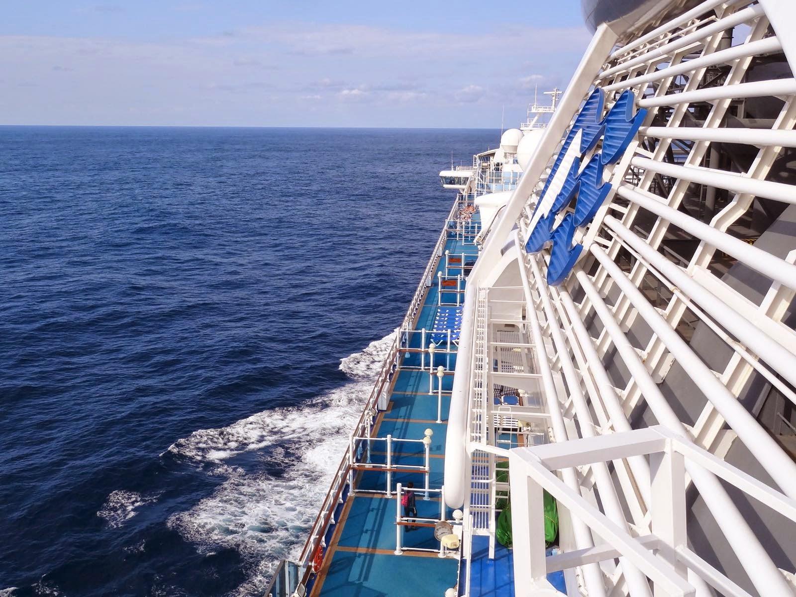 Deck 18 looking forward