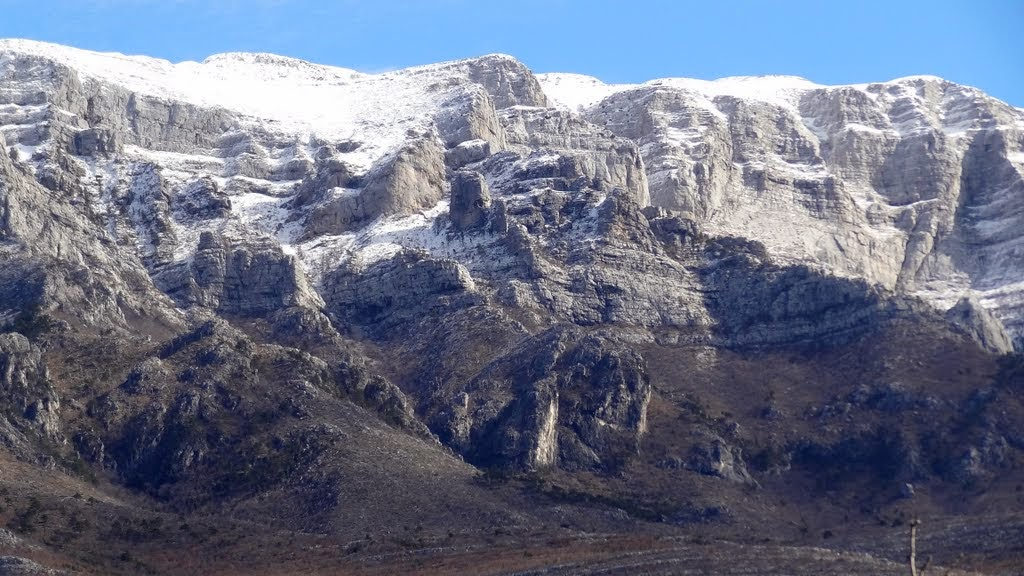 pogled stalno luta na Stijenu