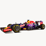 Daniil Kvyat's Infiniti RB11 shot in Milton Keynes, UK, 2015.  // Benedict Redgrove / Red Bull Content Pool // P-20150302-00514 // Usage for editorial use only // Please go to www.redbullcontentpool.com for further information. //