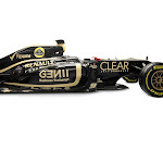 Renault E20 right side