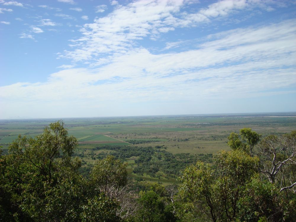 100km south of Townsville looking north