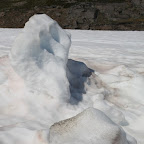 Snow figures in late June