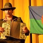Peppo Audigane à l'accordéon