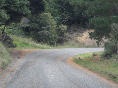 The road north to Port Jackson