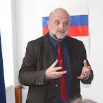 Vetter János igazgató előadása közben