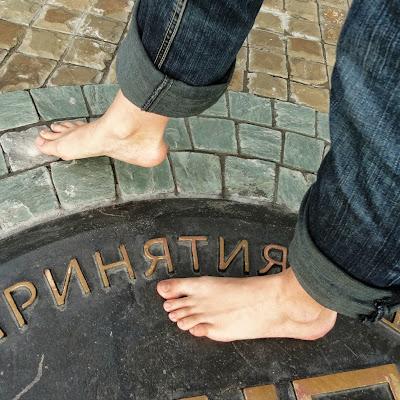 """На """"Месте принятия решений"""" - исторический памятник."""