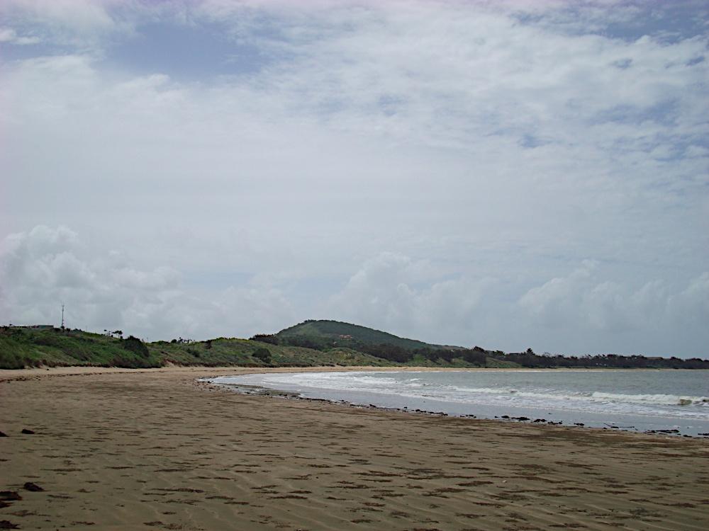 The beach at Emu Park