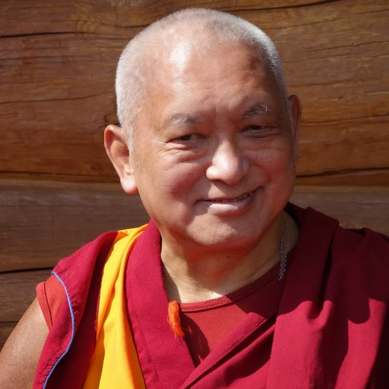 Lama Zopa Rinpoche, Buddha Amitabha Pure Land, Washington, US, August 2014. Photo by Ven. Roger Kunsang.