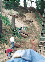 1996 - Construction of Back of the Temple 3