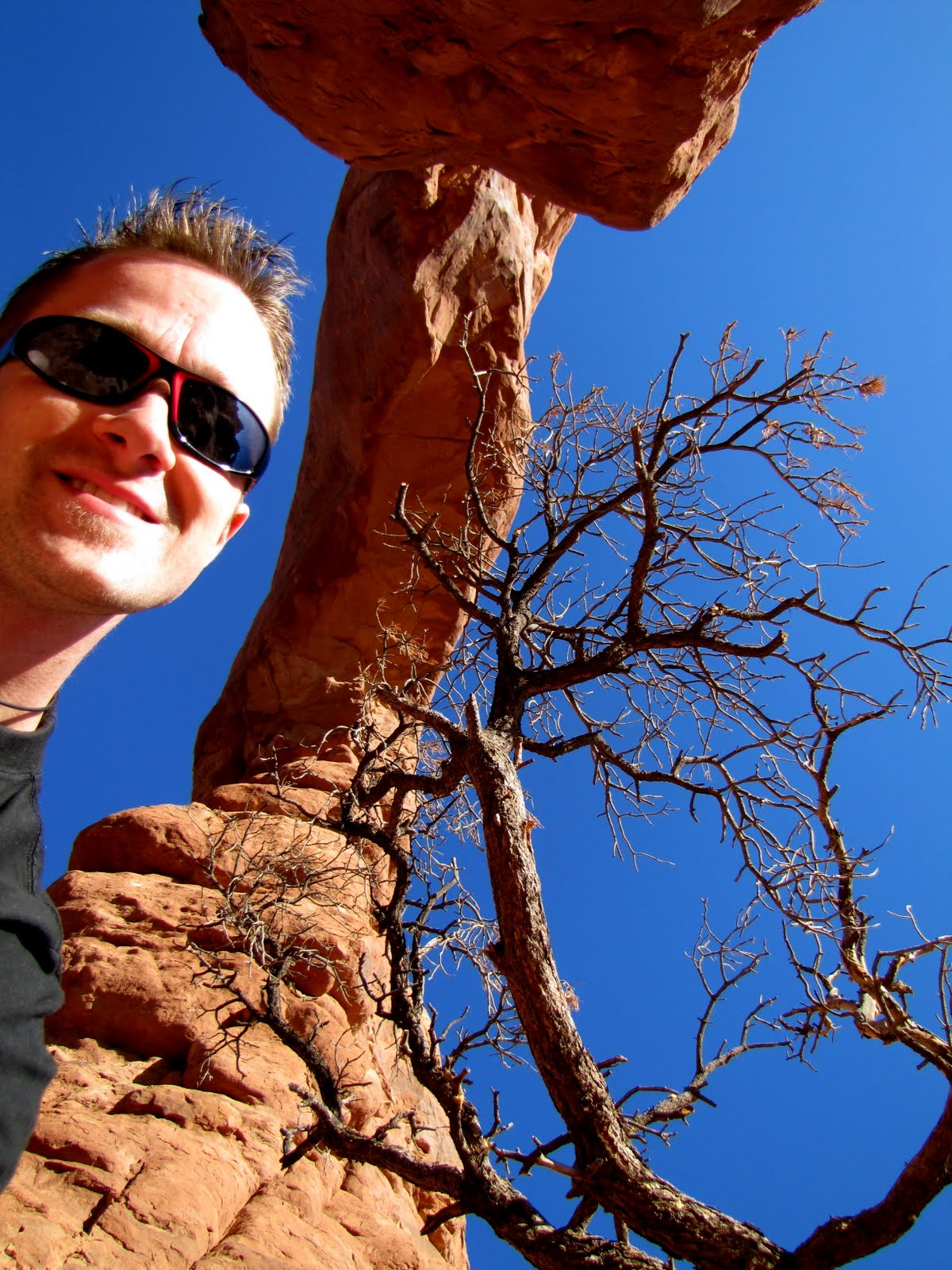 Ati in Arches National Park