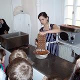 Ukázka výroby pralinek