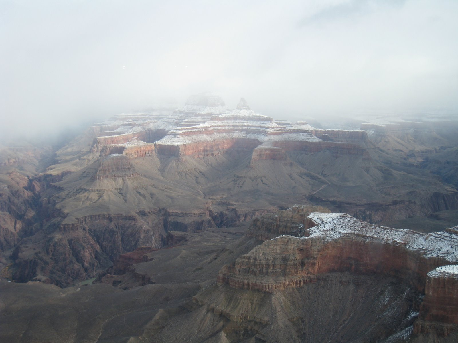 View from inside the Yavapai Observation Station