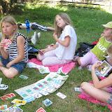 Celodenní výlet do Dobříše (4) - hrajeme hry v anglickém parku
