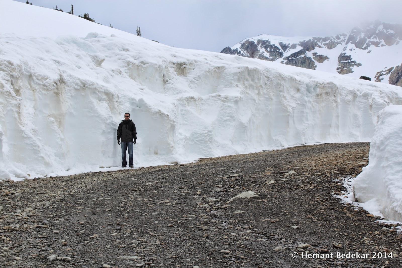 Snowwall on Whistler Mountain