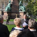 Rubovszky András, a koszorúzási ünnepség szónoka