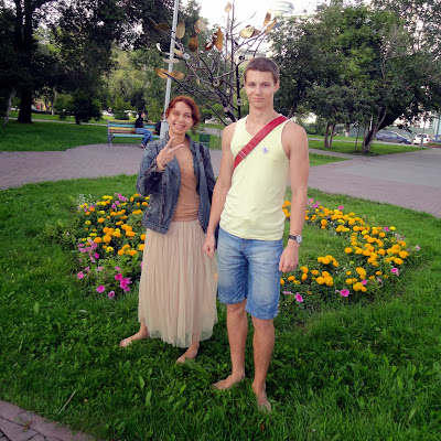 Босопрогулка по Новосибирску.