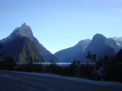 Milford Sound from the car park