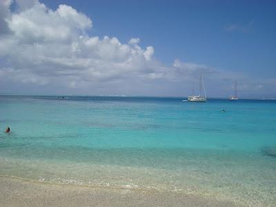 The beach at Fare