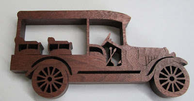 1920 Cheverlotet Station Wagon by Rick & Karen Longabaugh BLACK WALNUT