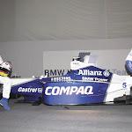 F1 car launch Williams FW23 BMW