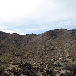 You get a short reprieve from climbing, just in time for the descent into Goat Canyon