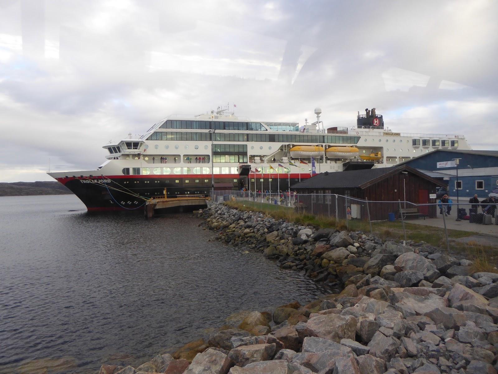 Arrival in Kirkeness