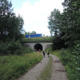 Tunelem podcházíme amazonskou stezku D1