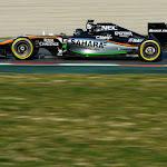 Sergio Perez, Force India VJM07 Mercedes