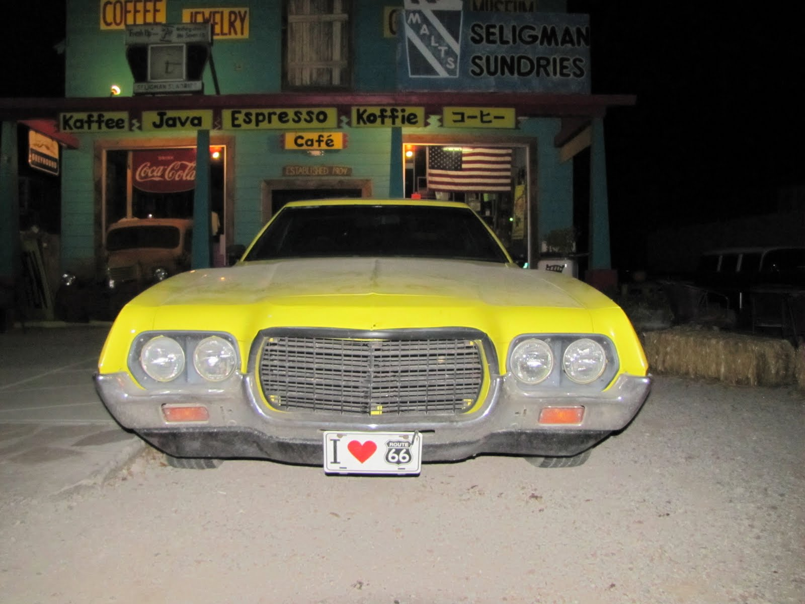 Route 66, Arizona, 1972 Ford Ranchero