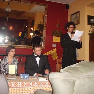 2011 rok - Spotkanie z poetką Dorotą Wilczewską - Caffe Anioł