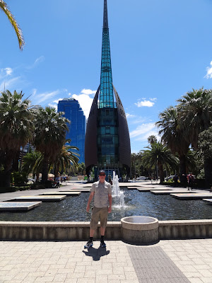 Me in front of he Swan Bells
