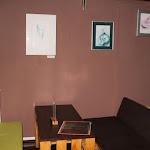 Kiállítás részlete a MyHont Café emeletén