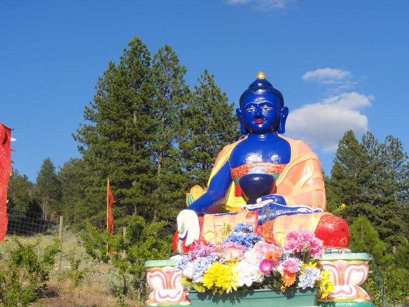 Medicine Buddha at Amitabha Pure Land