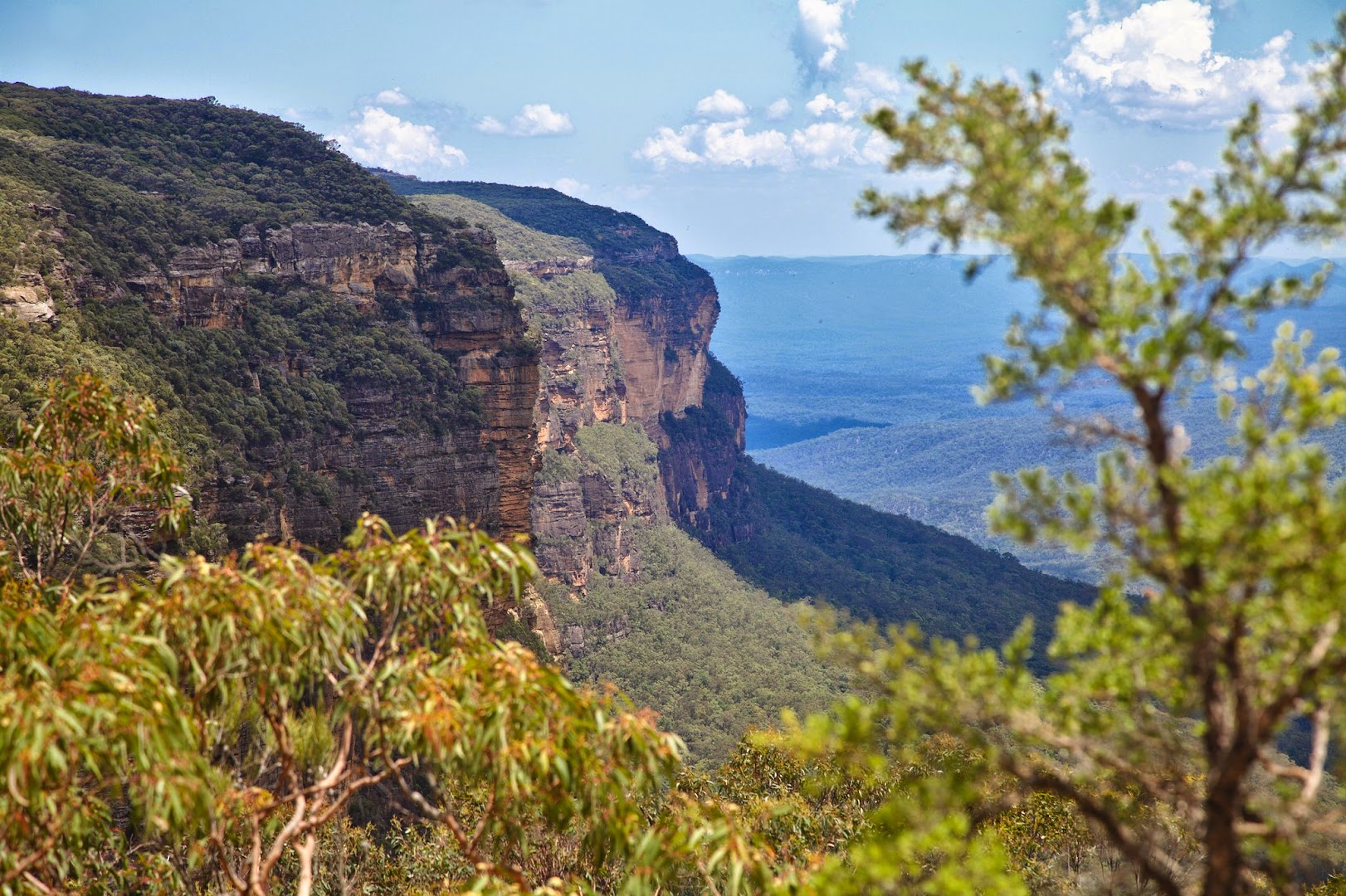 In the Blue Mountains, just 200 km outside of Sydney