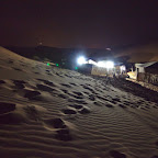 Berber camp during the night