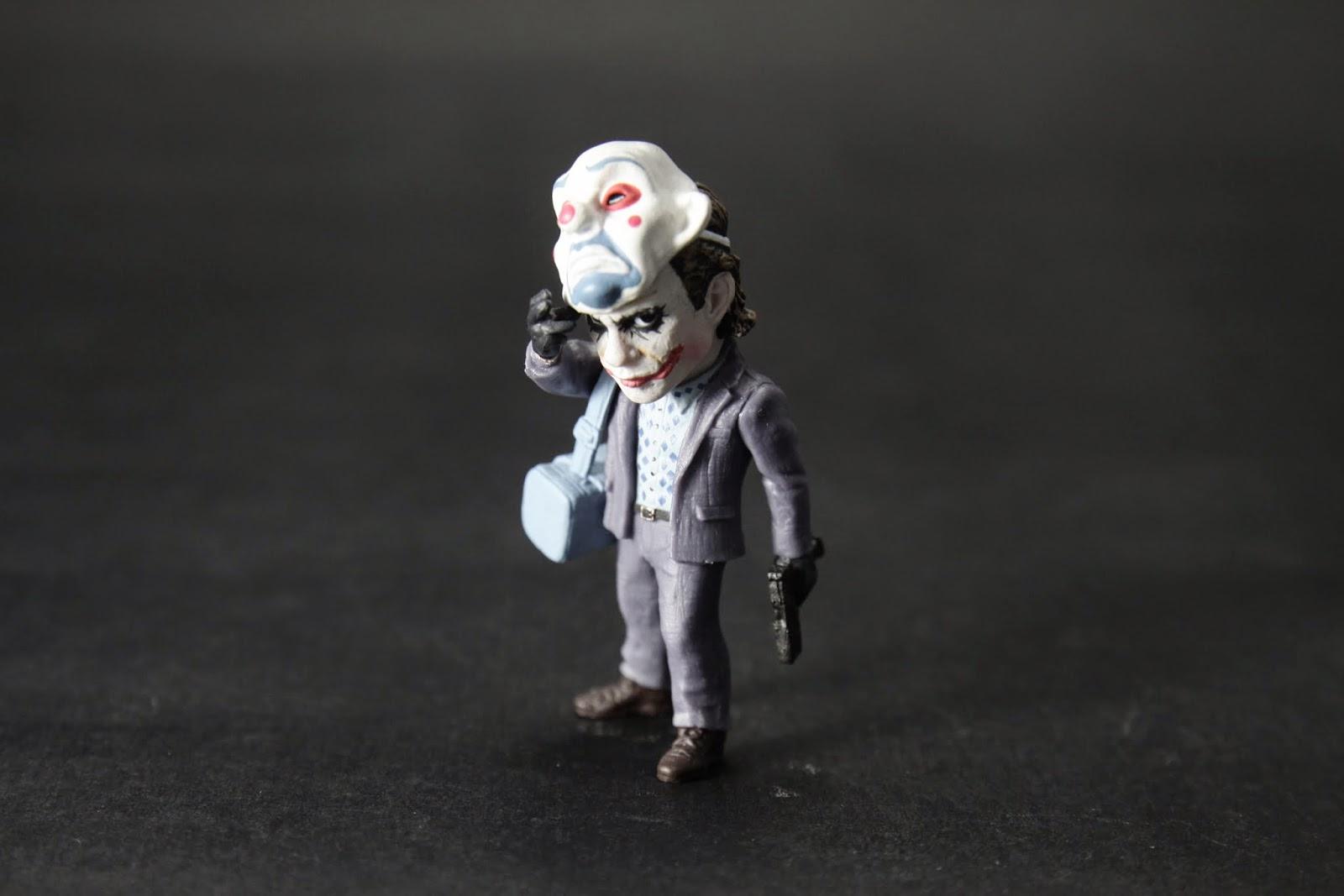 """""""銀行強盜"""" 序章小丑喬裝小丑搶銀行"""