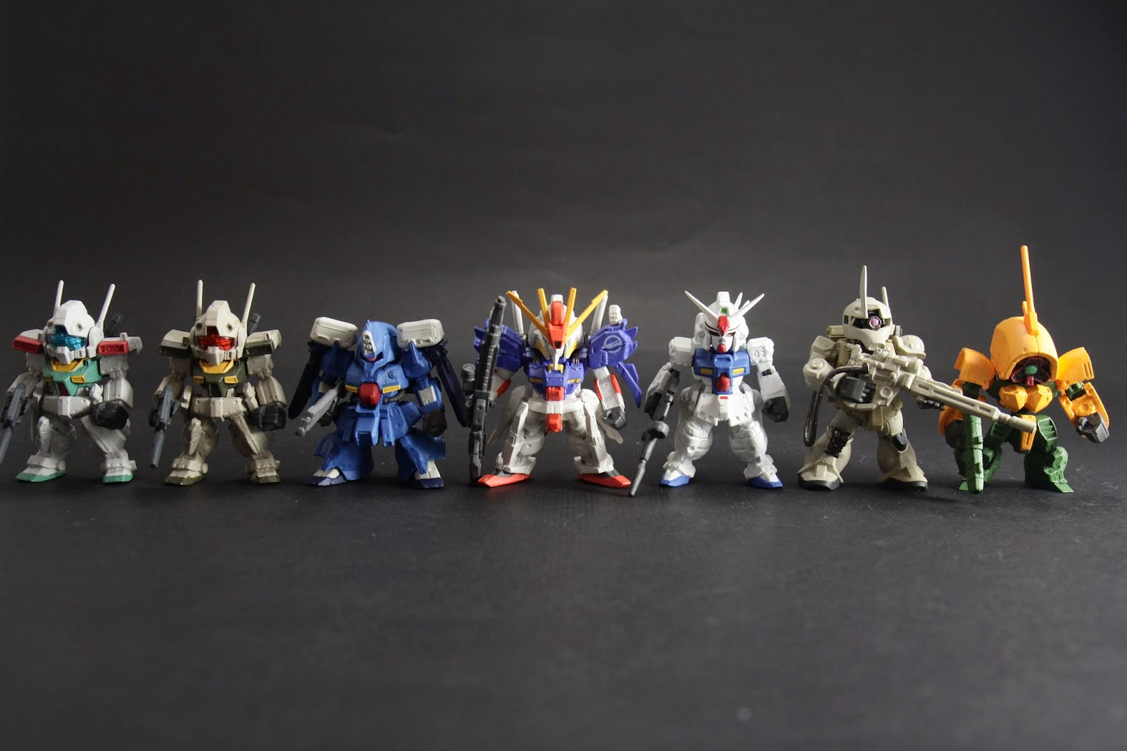 本次罰站排排站 S Gundam果然比較大