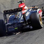 Romain Grosjean, Lotus E21, Au Rouge